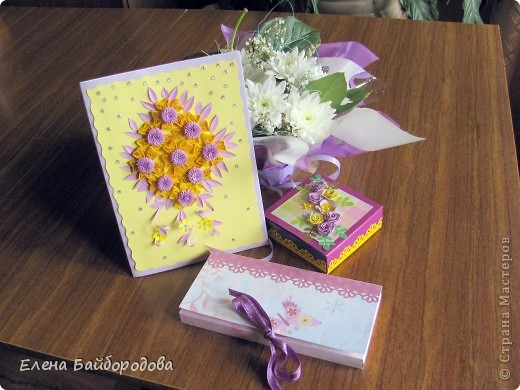 В июне побывала на двух днях рождения. Делала открытки и подарочки. Фотографировала после того, как подарила. Это открытка племяшке на 11 лет фото 6