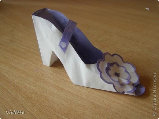 Всем доброго времени суток! Вот, выложила свою туфельку в СМ, может кому понравится идея её оформления ... фото 1