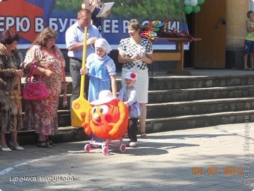 прошел парад просто на ура!!! сначала шли девочки со своими детскими колясками!! приятного просмотра!!!  фото 3