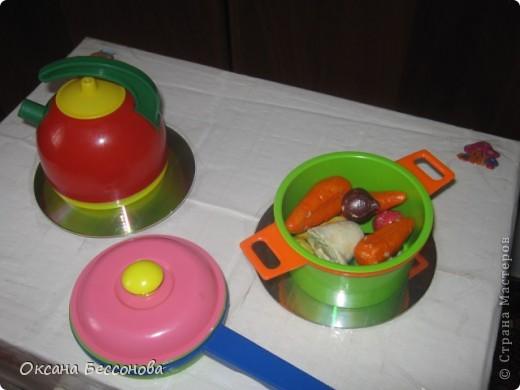 Вот такую кухонную плиту решила я сотворить для дочери из двух коробок. фото 3