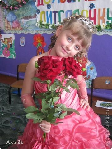 Вот такую прическу сделала подругиной дочке для детсадовского выпускного. фото 6