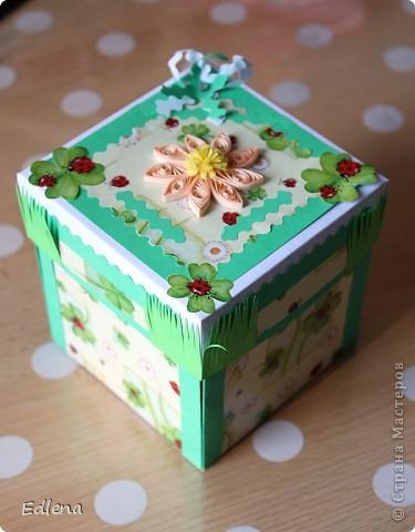 Летняя коробочка с сюрпризом (подарок)...  фото 1