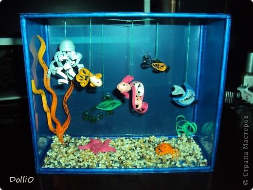 Как сделать аквариум с рыбами 527