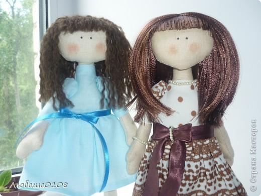 пошились у меня две куклешки))) фото 2