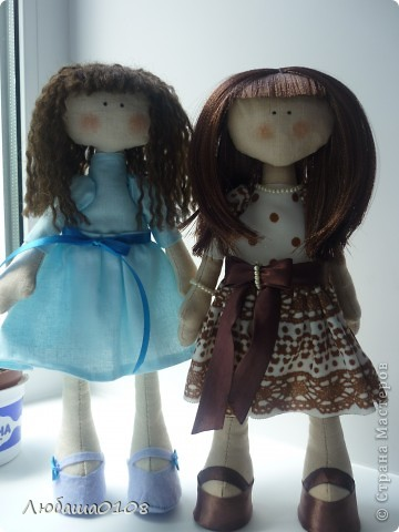 пошились у меня две куклешки))) фото 1