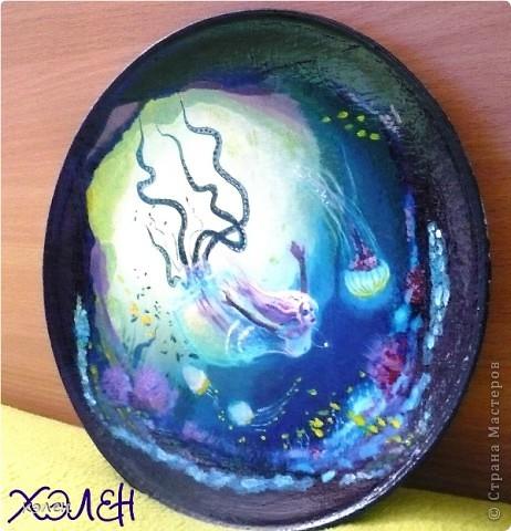 "тарелка ""Дриада"" фото 2"
