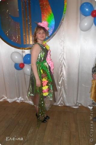 для новой коллекции театра мод понадобилось платье флоры. так как роза царица цветов решили сделать такой вот декор. фото 12