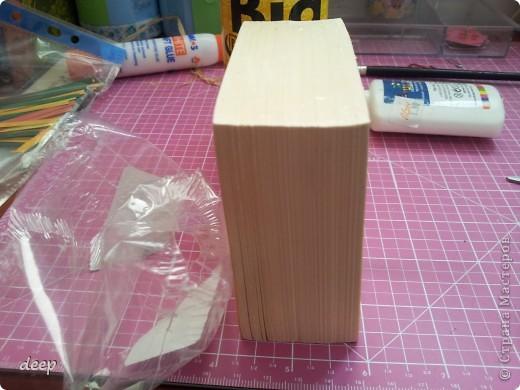"""Это мой первый мастер-класс, вернее даже просто """"репортаж"""" о том как я бысто и дешево делаю блоки для записей. Я использую для блоков разные материалы - остатки от предыдущих работ просто потому что не люблю выбрасывать ни сантиметра бумаги =) фото 5"""
