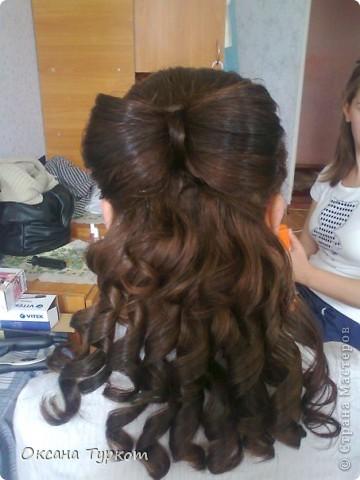 прически делала моя кума))) деткам на выпускной! она не парикмахер!!!!! фото 1