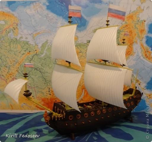 Всем привет! Сегодня расскажу вам о модели корабля  «Предестинация».  фото 1