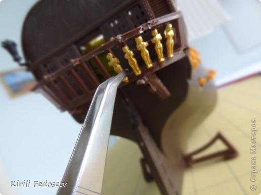 Всем привет! Сегодня расскажу вам о модели корабля  «Предестинация».  фото 2