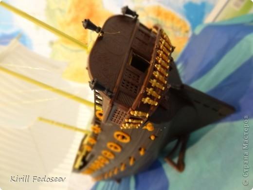 Всем привет! Сегодня расскажу вам о модели корабля  «Предестинация».  фото 3