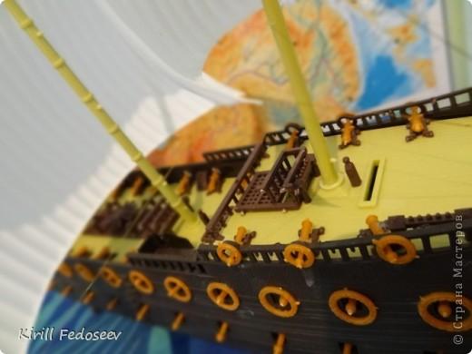 Всем привет! Сегодня расскажу вам о модели корабля  «Предестинация».  фото 4