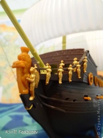 Всем привет! Сегодня расскажу вам о модели корабля  «Предестинация».  фото 5