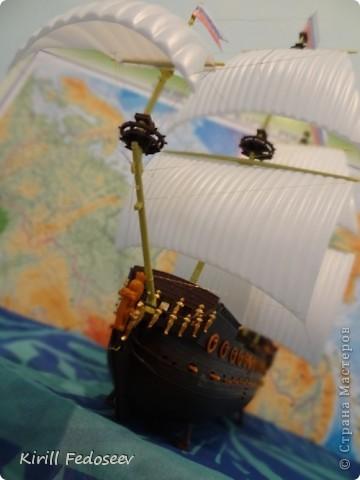 Всем привет! Сегодня расскажу вам о модели корабля  «Предестинация».  фото 6