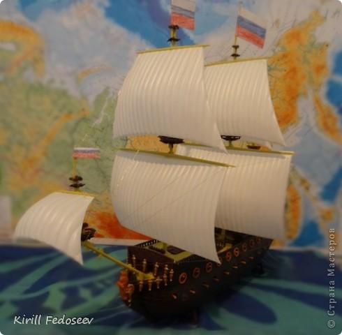 Всем привет! Сегодня расскажу вам о модели корабля  «Предестинация».  фото 7