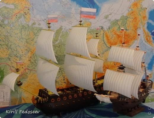 Всем привет! Сегодня расскажу вам о модели корабля  «Предестинация».  фото 8