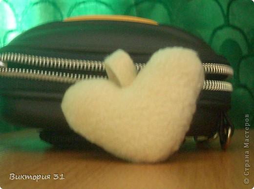 У меня появились вот такие зверушки из флиса)))) На мой взгляд милые и симпатичные))  это зайка  фото 5