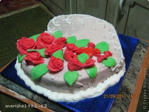 Доброго всем времени суток!!! Я опять с тортиками...Заказали тортик на крещение маленькой девочки и вот на просторах нашей страны я увидела тортик с ангелочками и вот что у меня получилось... фото 11