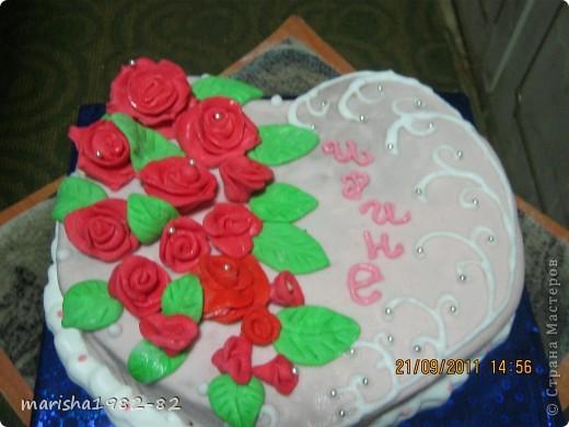 Доброго всем времени суток!!! Я опять с тортиками...Заказали тортик на крещение маленькой девочки и вот на просторах нашей страны я увидела тортик с ангелочками и вот что у меня получилось... фото 10