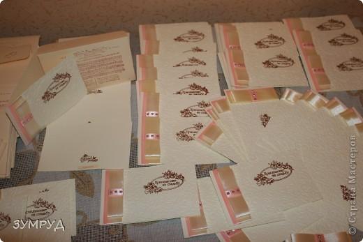 Заказ выполнила за три дня!!!!!! а еще и конвертики были! фото 1
