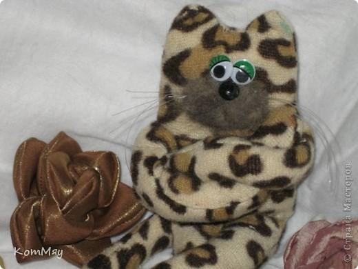 Мой котейка пошился давно, и самым первым убежал на Котовасию (на совместный пошив к Анечке - ALIBI). А вот у себя в блоге я его так и не показала. Исправляю свою ошибку фото 4