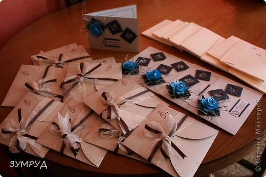 Заказ выполнила за три дня!!!!!! а еще и конвертики были! фото 6