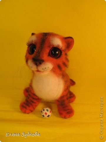 Этот тигрёнок пока без имени, пусть имя ему придумает новая мамочка - девочка Настя))) фото 8