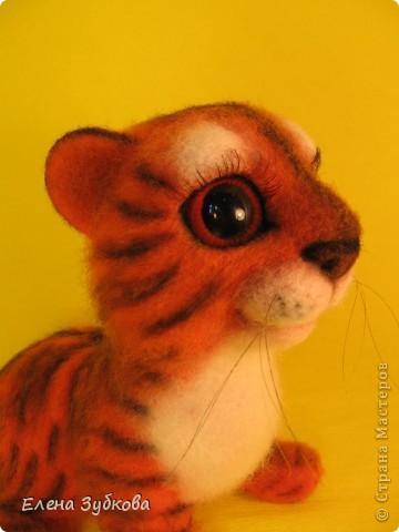 Этот тигрёнок пока без имени, пусть имя ему придумает новая мамочка - девочка Настя))) фото 1