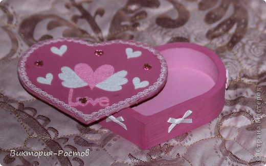 Шкатулка-розовая мечта:) фото 2
