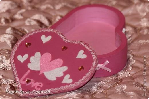 Шкатулка-розовая мечта:) фото 3