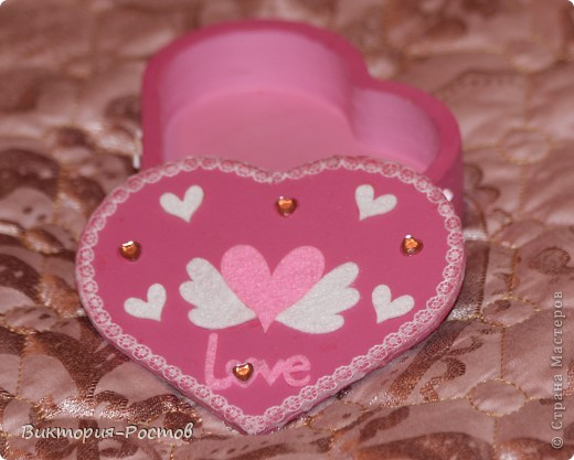 Шкатулка-розовая мечта:) фото 1