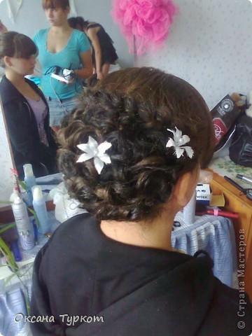 прически делала моя кума))) деткам на выпускной! она не парикмахер!!!!! фото 2