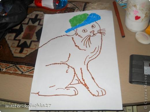 вот такой котик.ссылка на конкурс в конце записи. фото 1
