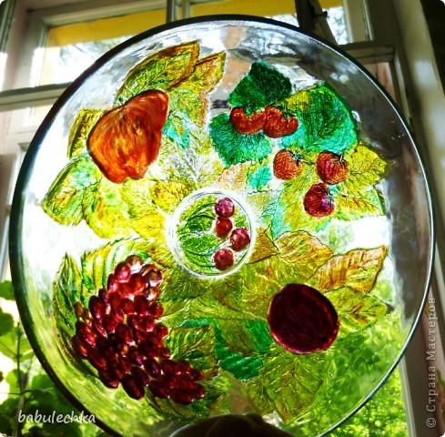 Зеркало большое овальное,роспись акриловыми красками. фото 11
