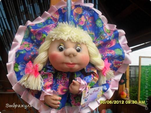 Вот таких кукол нашила на июньскую ярмарку. Шью теперь на даче. Совсем мало куклёш удаётся шить. Совмещать работу, дачу , кукол и внуков тяжеловатоооооо. Поэтому уже что уж есть. Вот такие девчонки. фото 4