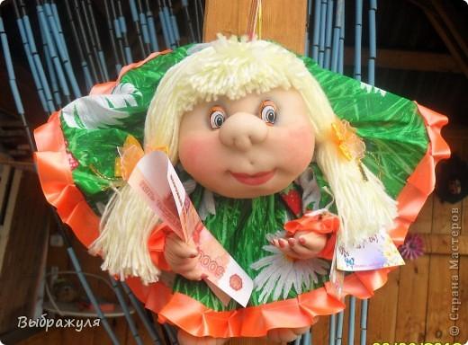 Вот таких кукол нашила на июньскую ярмарку. Шью теперь на даче. Совсем мало куклёш удаётся шить. Совмещать работу, дачу , кукол и внуков тяжеловатоооооо. Поэтому уже что уж есть. Вот такие девчонки. фото 5