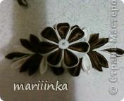 Ещё одна скромная попытка сделать цветочки канзаши. фото 3