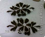 Ещё одна скромная попытка сделать цветочки канзаши. фото 2