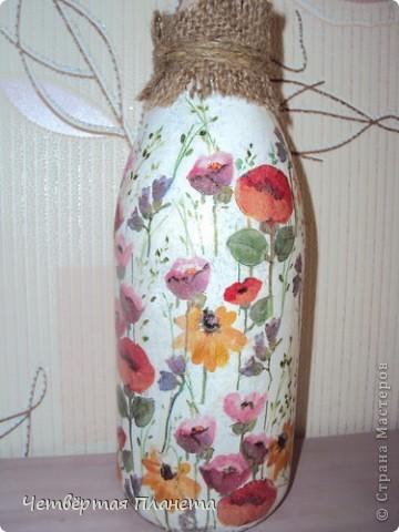 Решила добавить в свой интерьер вот такую бутылочку. фото 2