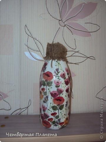 Решила добавить в свой интерьер вот такую бутылочку. фото 3