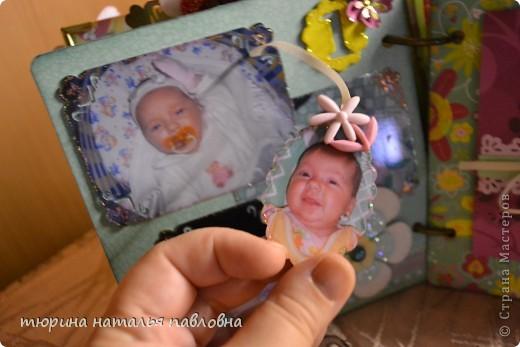 Наконец то доделала альбомчик для второй младшей дочурки. Мучить коментами не буду, смотрите сами))) фото 8