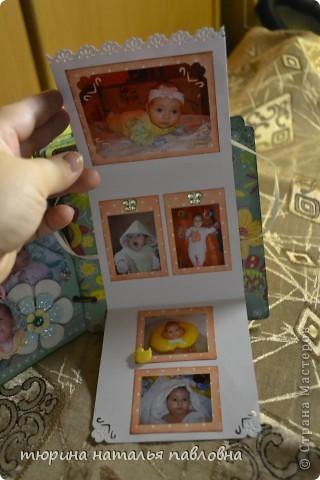 Наконец то доделала альбомчик для второй младшей дочурки. Мучить коментами не буду, смотрите сами))) фото 9