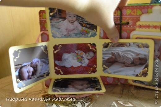 Наконец то доделала альбомчик для второй младшей дочурки. Мучить коментами не буду, смотрите сами))) фото 14
