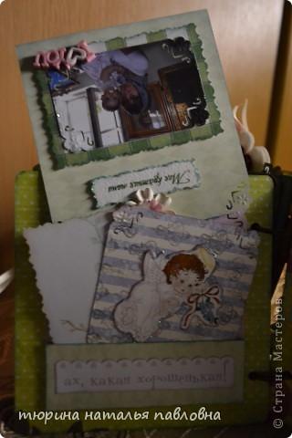 Наконец то доделала альбомчик для второй младшей дочурки. Мучить коментами не буду, смотрите сами))) фото 21