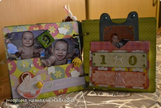 Наконец то доделала альбомчик для второй младшей дочурки. Мучить коментами не буду, смотрите сами))) фото 22