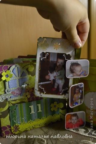 Наконец то доделала альбомчик для второй младшей дочурки. Мучить коментами не буду, смотрите сами))) фото 26
