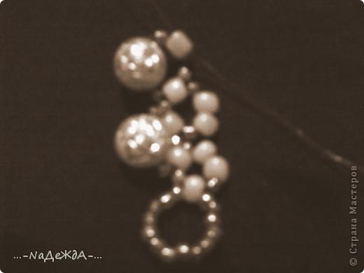 Вот это моё ожерелье. Идею я поймала здесь, но немного изменила, так как у меня были под рукой бусины разного размера. Извините заранее за плохое качество фотографий, снимала на телефон и отбирала самое лучшее... фото 6
