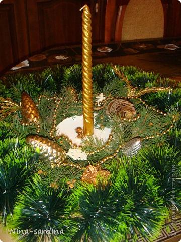 Веночек, для Новогоднего стола))) фото 1