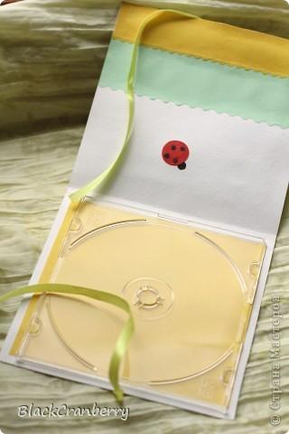 Коробочка для диска с фото племяшки. фото 3